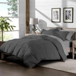 Bare Home 5-Piece Bed-In-A-Bag - Twin (Comforter Set: Gray,