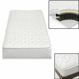 "6"" Inch Comfort Bunk Bed Mattress Twin Size Innerspring Heav"