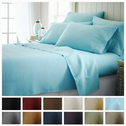 Hotel Collection 6 Piece Premium Ultra Soft Bed Sheet Set by