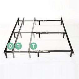 Zinus Michelle Compack Adjustable Steel Bed Frame, for Box S