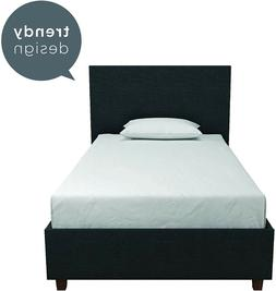 DHP Alexander Upholstered Bed - TWIN