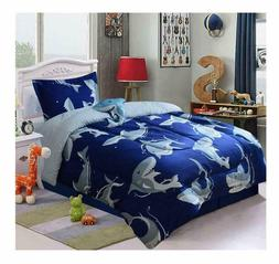 All American Collection 3 Piece Twin Size Comforter Set with