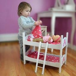 American Girl Twin Baby Doll Wooden Bed Bunk 18 Inch Dolls S