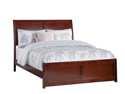 Atlantic Furniture AR8936034 Portland Bed, Full, Walnut