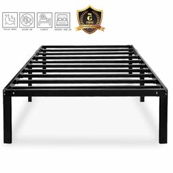 Bed Frame for Girls Boys No Box Spring Needed 14 Inch Metal