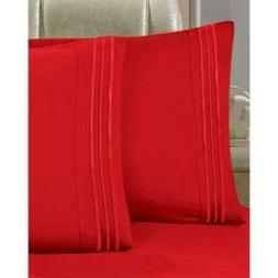 Bed Sheet Set size Twin XL 1500 Thread Count Soft No ironing