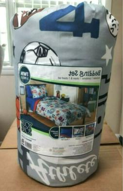 BEDDING IN A BAG 5 PCS TWIN BOYS YOUR ZONE CARS,AIRPLANES,BO