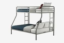 RealRooms Cali Twin over Full Metal Bunk Bed Frame, Multiple