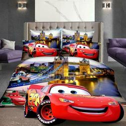 Disney Cars Single Bed Duvet/Doona/Quilt Cover Twin Boys She