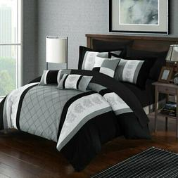 Chic Home Dalton Bed in a Bag Comforter Set
