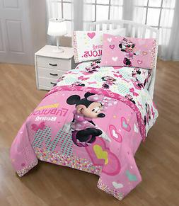 Disney Minnie Mouse Kid's Bedding Twin bed flat fitted Sheet