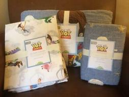POTTERY BARN KIDS Disney Pixar TOY STORY Twin Quilt Sham & S