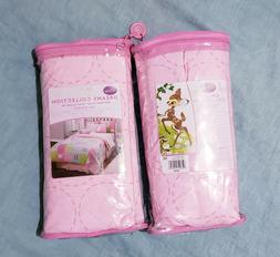 Disney Dreams Collection Pink circles Twin Bed Skirt