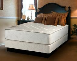 Exceptional Plush Orthopedic Two-Sided Mattress set with Bed