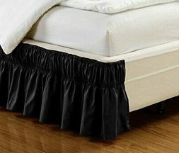 Fancy Collection Twin- Full Easy Fit Bed Ruffle Wrap Around
