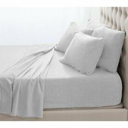 Fleece Solid Sheet Set by Bare Home