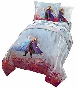 Jay Franco Frozen 2 Forest Spirit Bed Set, Twin Bed 100% Pol
