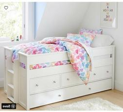 Pottery Barn Kids Elliot Captain Storage Bed Trundle Simply