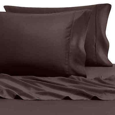 "Pure Beech 100% Modal Sateen 400 Tc Twin Sheet Set 18"" Deep"