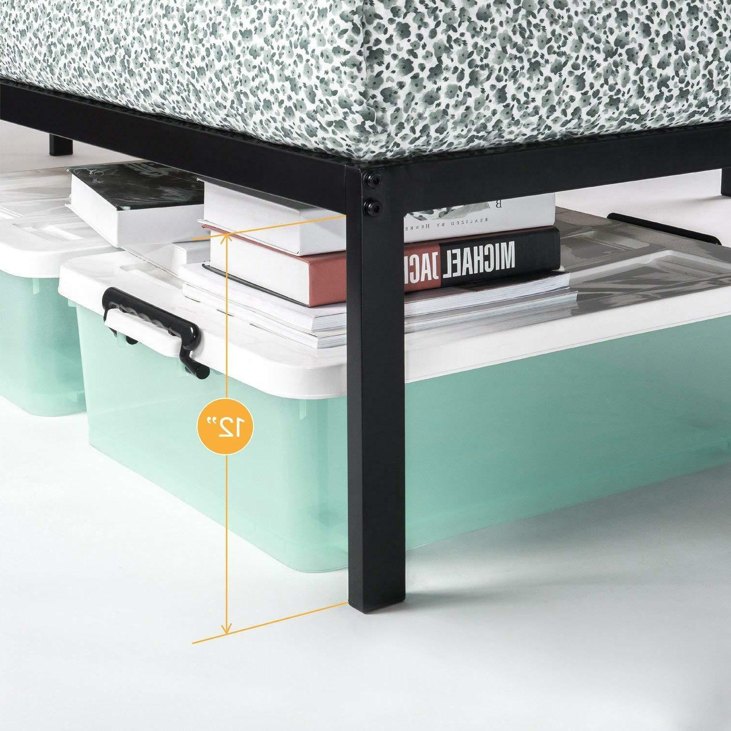 14'' Classic Platform Bed with Steel