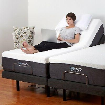 """Adjustable KING Electric Bed 12"""""""
