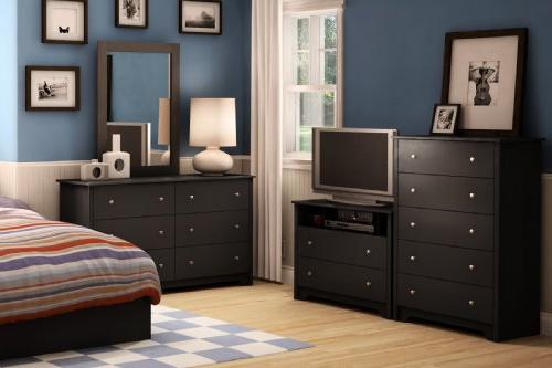 South Shore Collection Chest Black