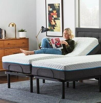adjustable twin xl electric motorized bed frame