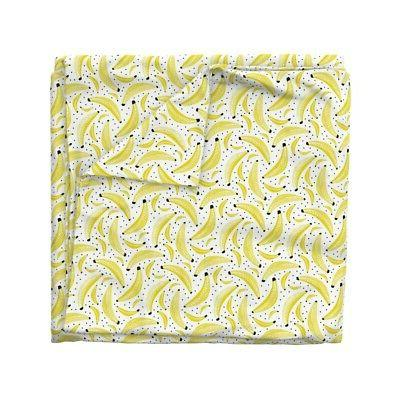 Bananas Fruit Kitchen Duvet by Roostery