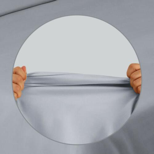 Bed Fitted Sheet Flat Twin Queen 14