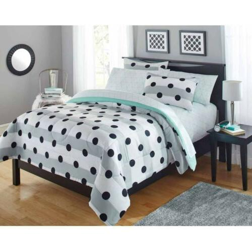 Comforter set for Girls Teens- Bed in a Bag - Twin size Bedd
