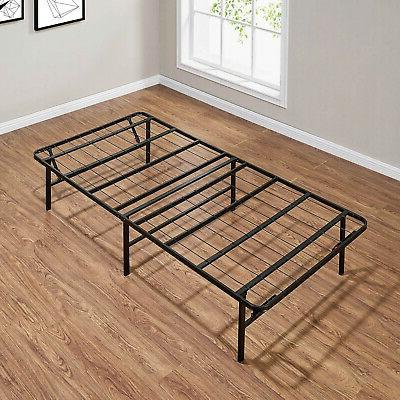box spring replacement metal platform bed frame