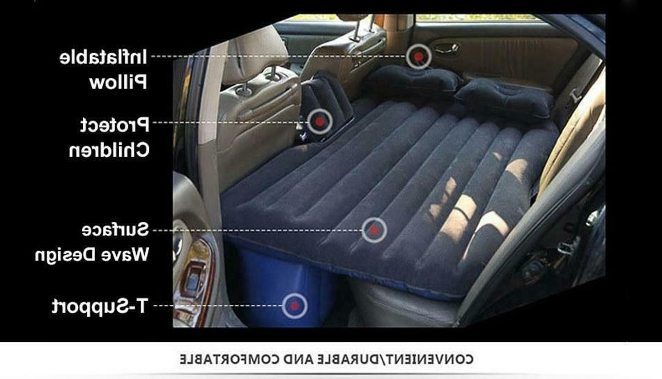 Car Bed Inflatable Mattress Cushion Outdoor Sofa