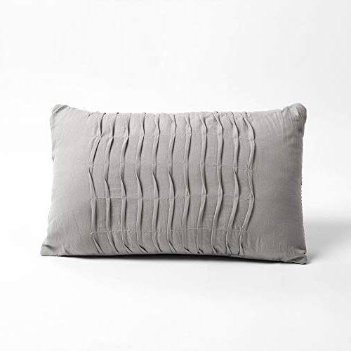 Lush Decor Ravello Chic Style Pintuck 5 with Pillow Shams,