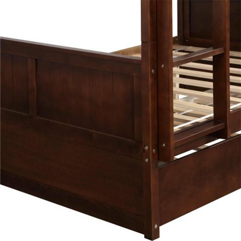 Full Over Bed Trundle Home Furniture