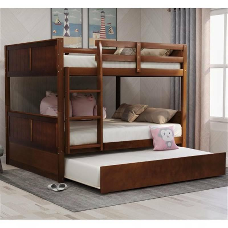 full over full bunk bed with twin
