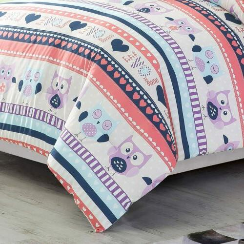 Chezmoi Collection Bedding Set with Pillow