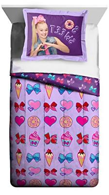 Jay Franco JoJo Siwa Sweet Life Twin/Full Comforter and Sham