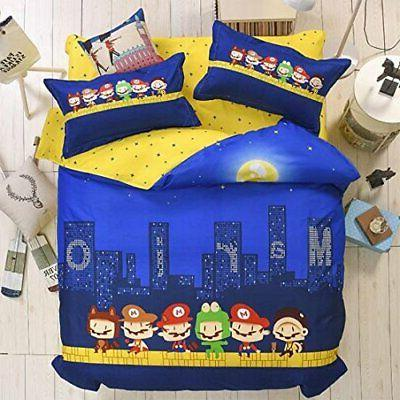 kfz postman blue color twin size bed