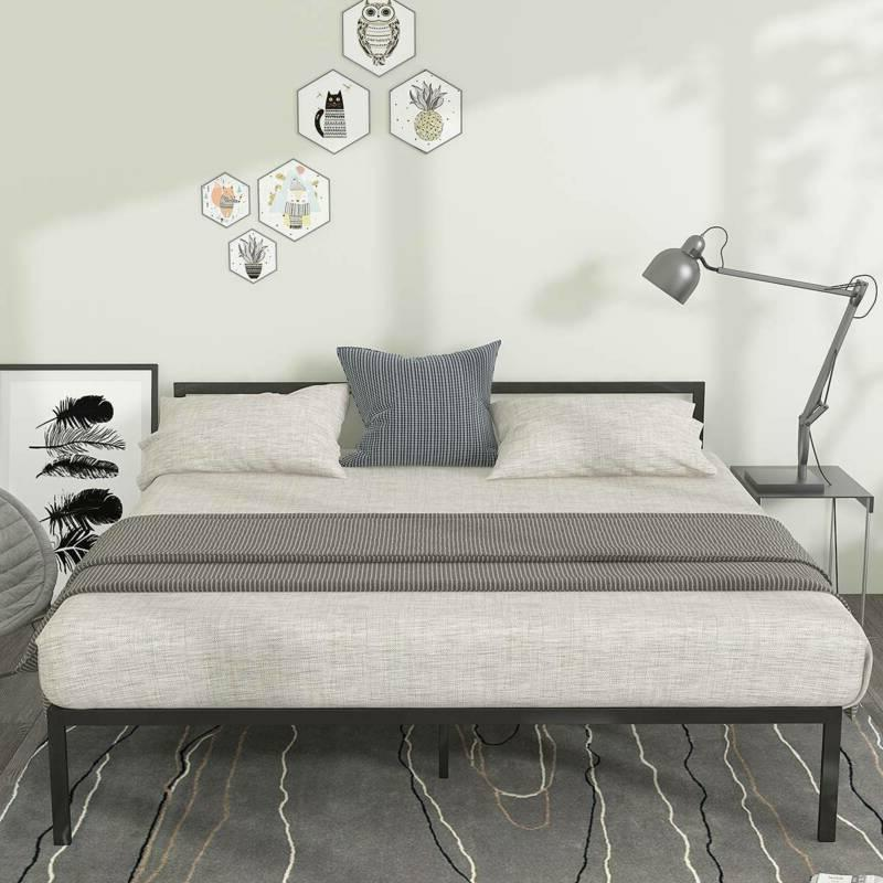 YITAHOME Size Bed Headboard Foundation Slat