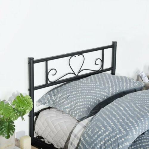 Metal Frame Size with Headboard and Footboard