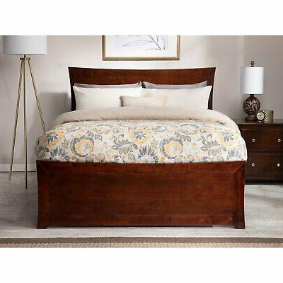 Atlantic Metro Bed with Foot and Optional Trundle or