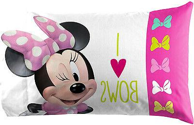 Minnie Bow Twin Sheet Mouse