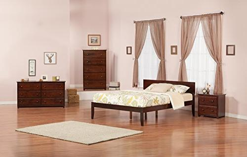 Atlantic Foot Bed, Walnut