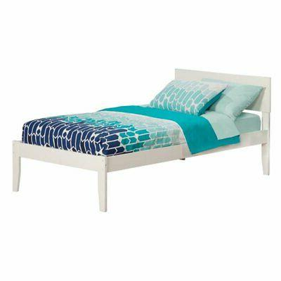 Atlantic Furniture Orlando Twin Platform Bed with Open Footb