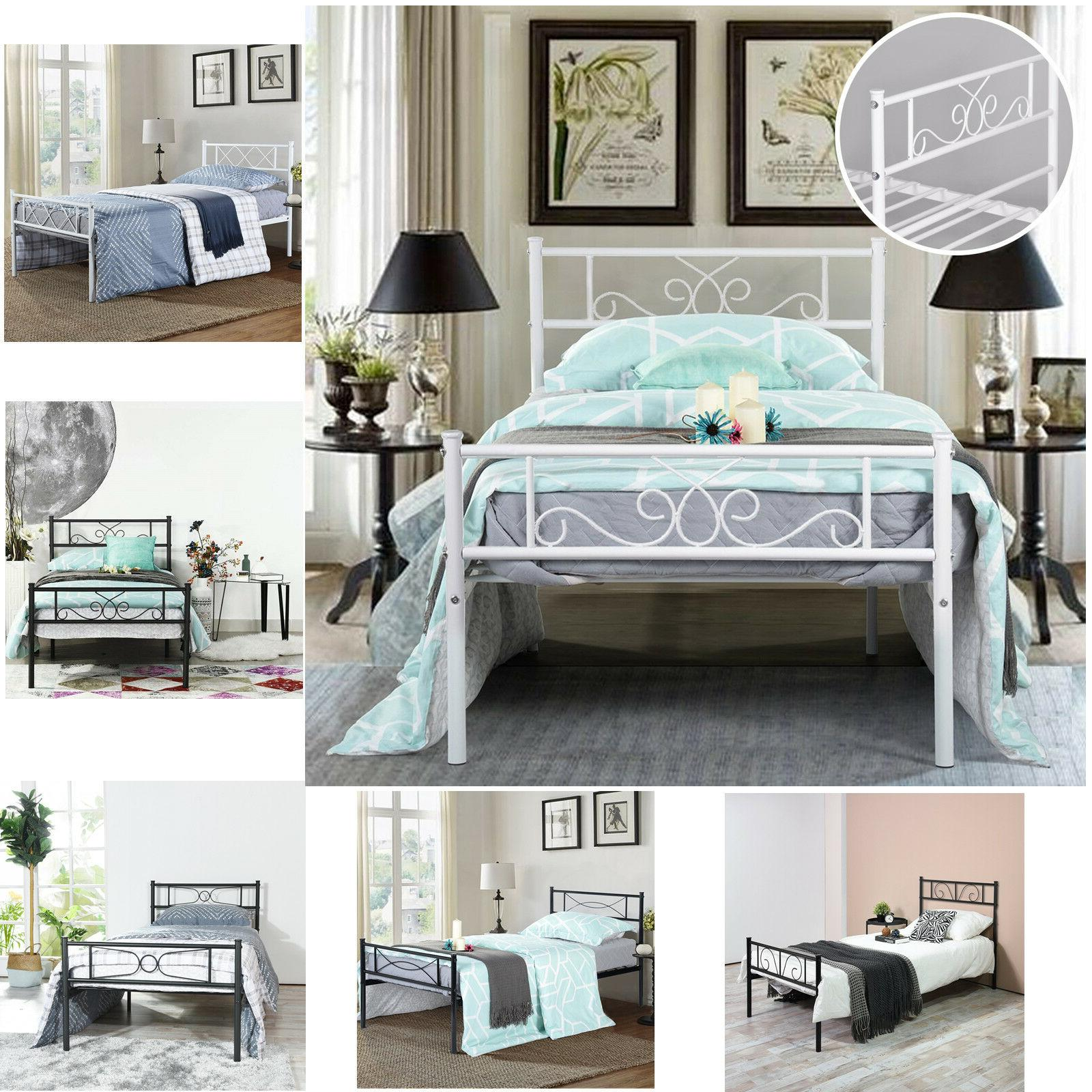 platform bed frame queen twin full size