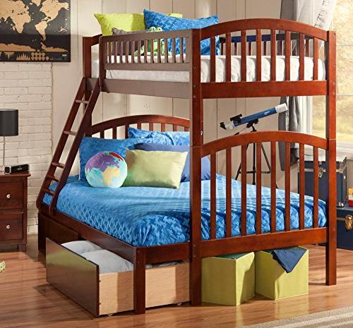 Atlantic Over Bunk Bed with
