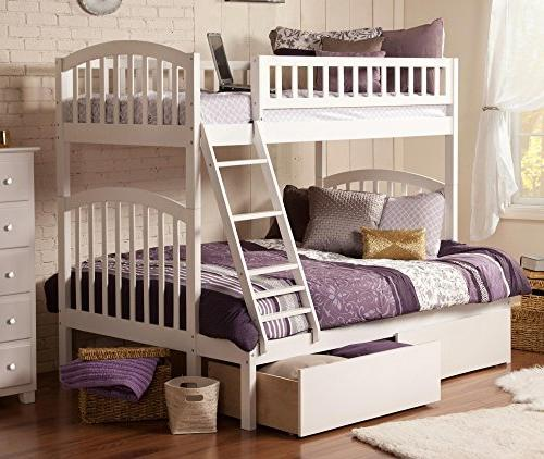 Over Bunk with Storage