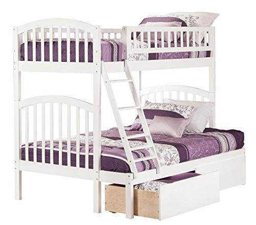 Atlantic Richland Twin Over Bunk Bed with
