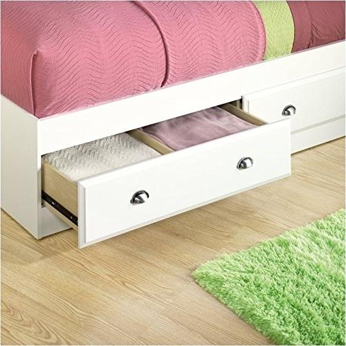 Sauder Shoal Creek Twin Mates Bed with