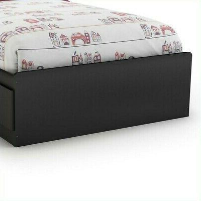 South Spark Mates Bed in Pure Black
